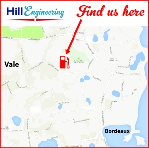 Hill Engineering Map